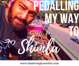 Pedalling My Way to Shimla by Shairik Sengupta