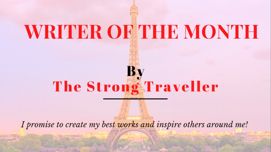 Writer of the Month