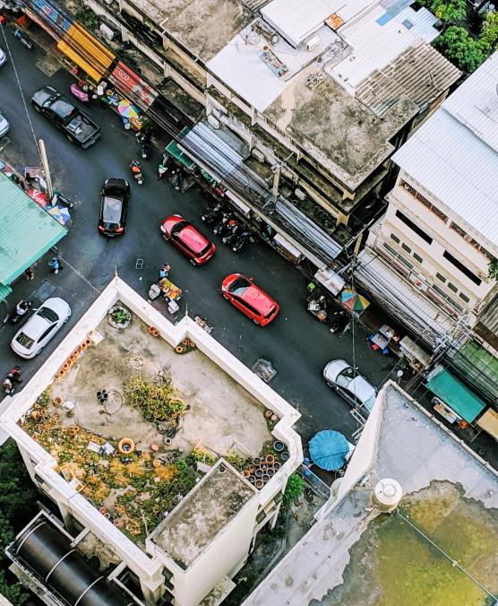 aerial-shot-of-road-and-buildings-1682755