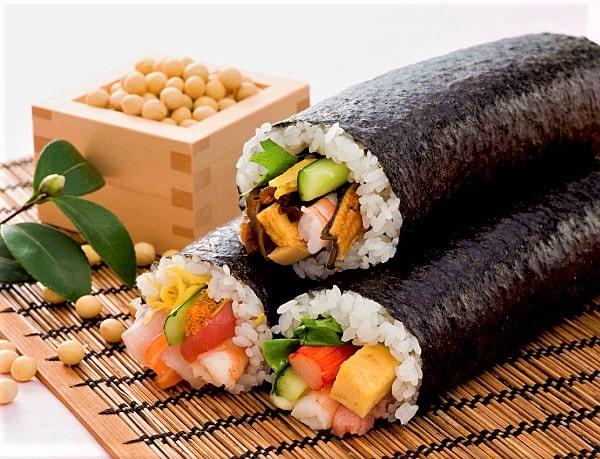 Eho-maki Sushi Rolls