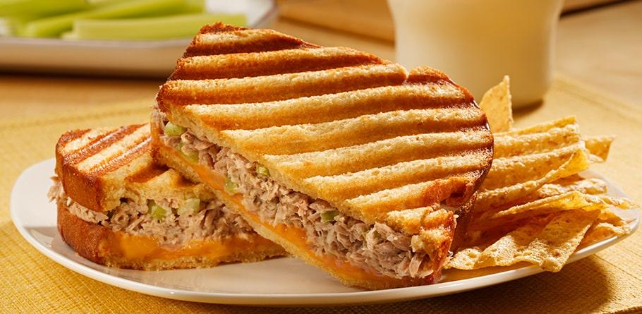 Crunchy Tuna And Remoulade Sandwich
