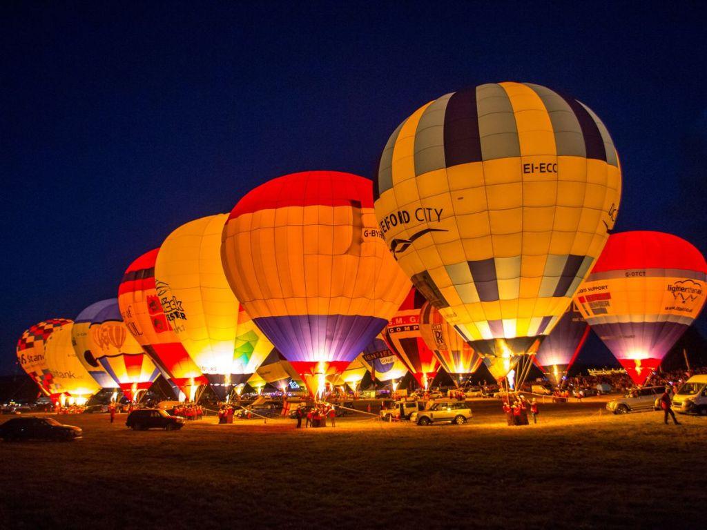 Bristol International Balloon Fiesta, UK