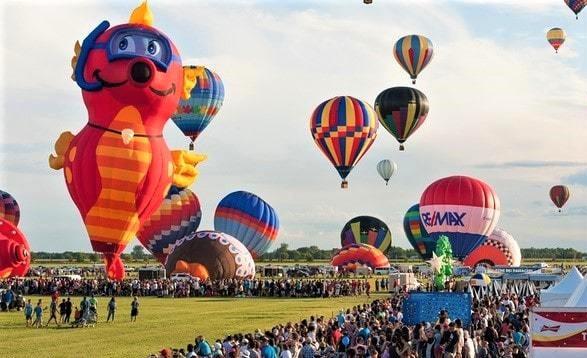 International Balloon Festival of Saint-Jean-sur-Richelieu, Canada