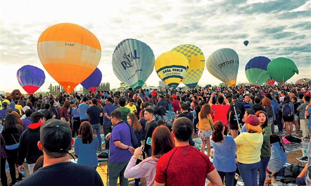 Philippines International Hot Air Balloon Festival, Clark, Pampanga