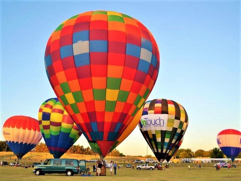 Plano Balloon Festival, Plano, Texas, USA
