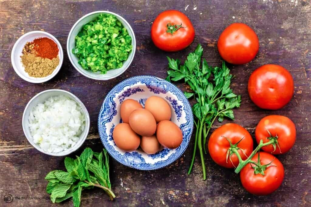 Shakshuka Ingredients