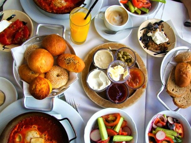 Israeli Breakfast Buffet